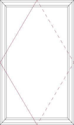Apertura pivotante vertical
