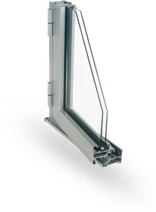 Perfil sistema 45 EURO puertas y ventanas PRACTICABLES